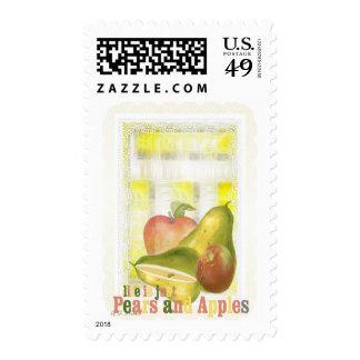 pearsandapples postage stamp