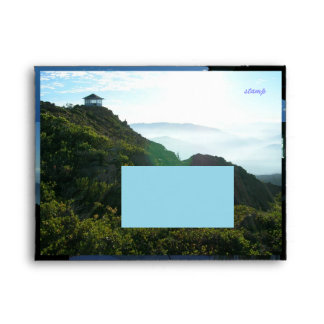 Pearsoll Peak Fire Lookout Envelope