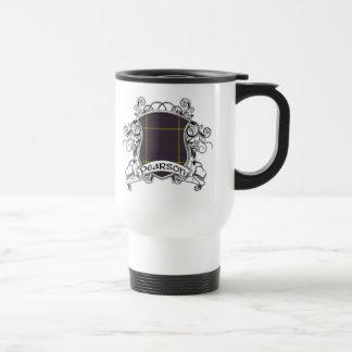 Pearson Tartan Shield Travel Mug