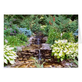 Pearson Waterfall Card