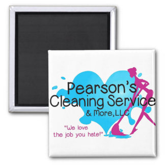 Pearson's Cleaning Service & More, LLC Magnet