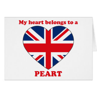 Peart Greeting Card