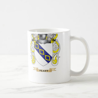 Peart Coat of Arms (Family Crest) Classic White Coffee Mug