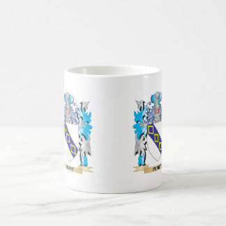 Peart Coat of Arms - Family Crest Classic White Coffee Mug