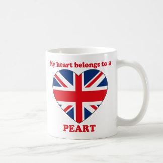 Peart Classic White Coffee Mug