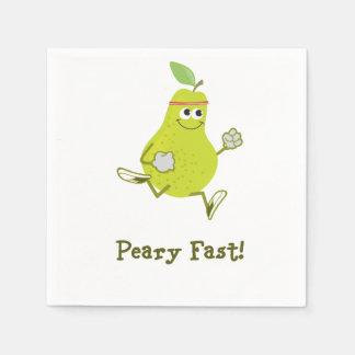 Peary Fast! Napkin