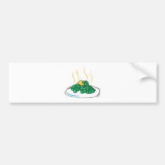 peas and butter bumper sticker