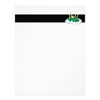 peas and butter letterhead