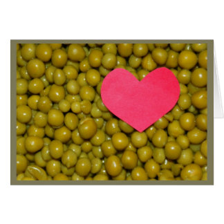 Peas Be Mine! Greeting Card