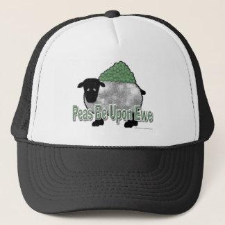 Peas Be Upon Ewe Trucker Hat