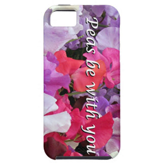 Peas be with you sweet peas iPhone SE/5/5s case