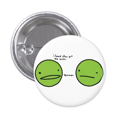 Peas Buttons