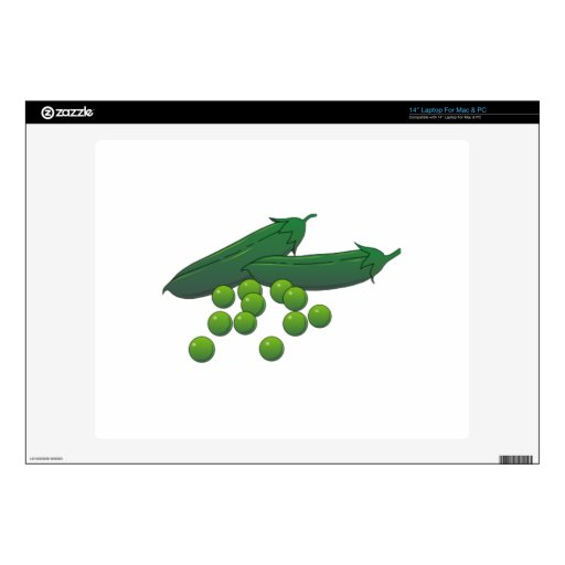 Peas Decals For Laptops
