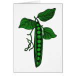 Peas in Pod Stationery Note Card