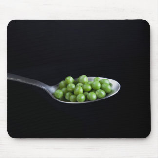 Peas on a Spoon Mouse Pad