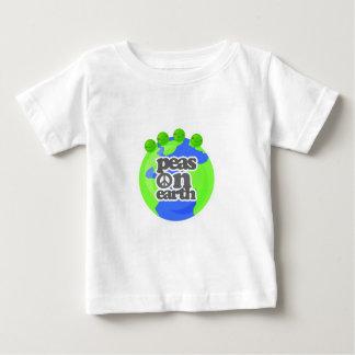 Peas on Earth Baby T-Shirt