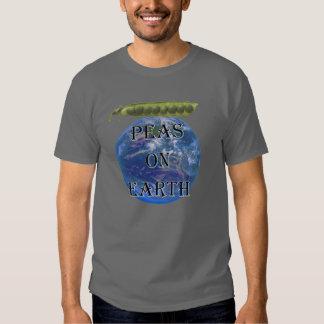 Peas on Earth Basic Dark Shirt