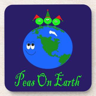 Peas On Earth Coaster
