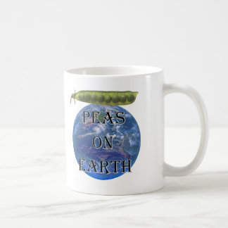 Peas on Earth Coffee Mug