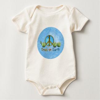 Peas on Earth - Go Green Baby Bodysuit