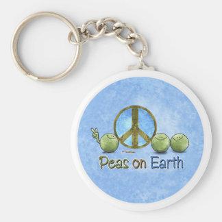 Peas on Earth - Go Green keychain