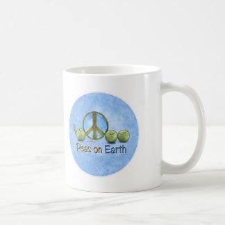 Peas on Earth - Go Green mug