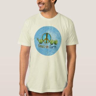 Peas on Earth - Go Green T-shirt