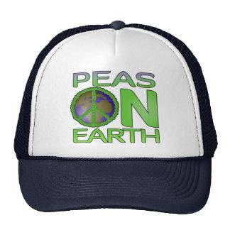 Peas on Earth Hats