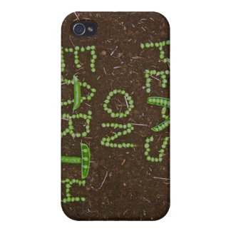 Peas on Earth iPhone 4 Case