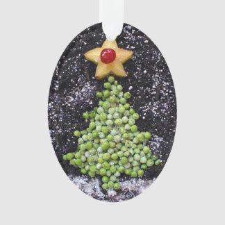 """Peas on Earth"" Ornament"
