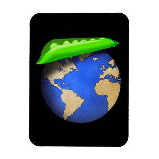 Peas on Earth - Peace on Earth Holiday Magnet