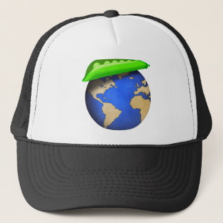 Peas on Earth - Peace on Earth Holiday Trucker Hat