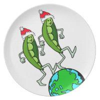 Peas on Earth Plate