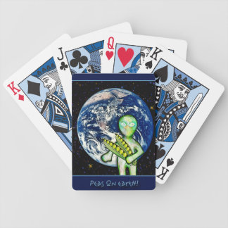 Peas On Earth Playing Cards