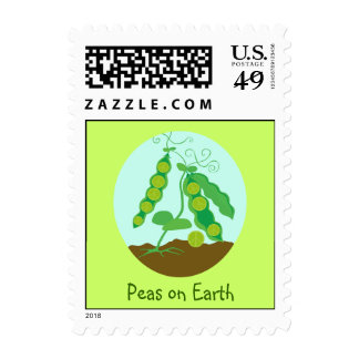 Peas on Earth Stamps