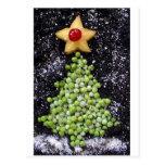 """""""Peas On Earth"""" Postcard"""