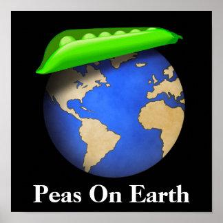 Peas On Earth Print