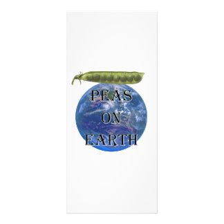 Peas on Earth Rack Card