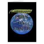 Peas on Earth Stationery Note Card
