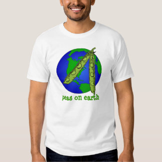 Peas On Earth - T-Shirt