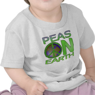Peas on Earth T-shirts
