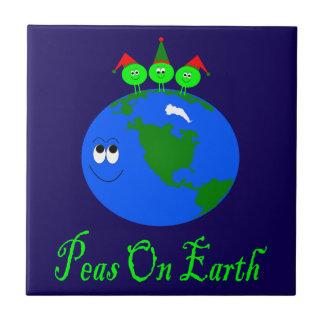 Peas On Earth Tile
