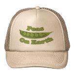 Peas on Earth Trucker Hat