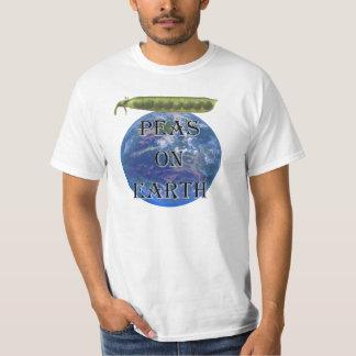 Peas on Earth Value T-shirt