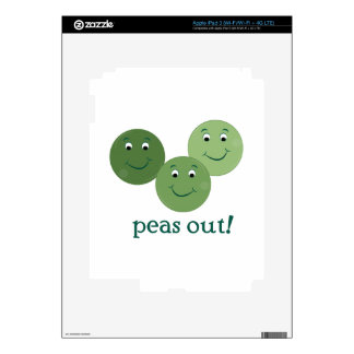 Peas Out Decal For iPad 3