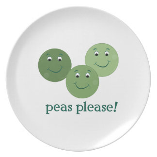 Peas Please Plate
