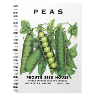 Peas Seed Packet Journals