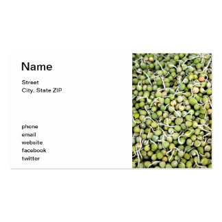 Peas Sprouts Business Card