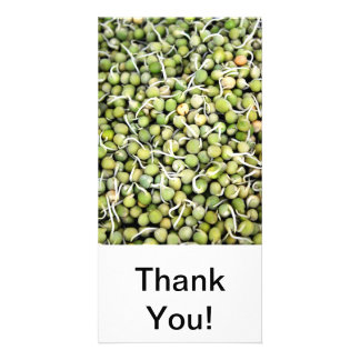 Peas Sprouts Card