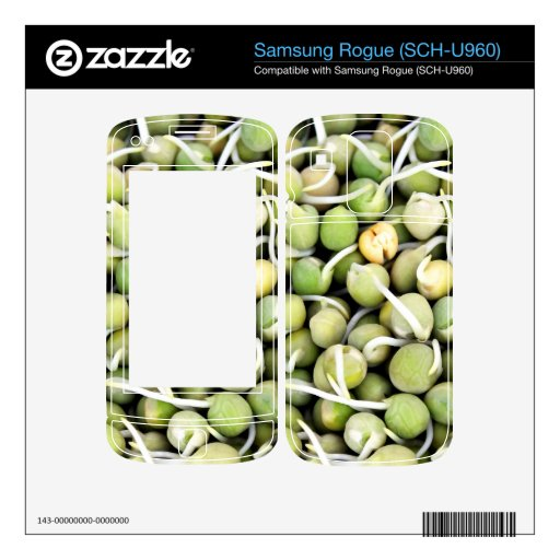 Peas Sprouts Skin For Samsung Rogue